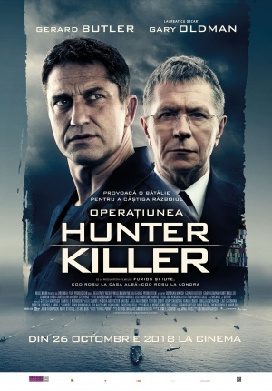 Afis OPERAȚIUNEA HUNTER KILLER