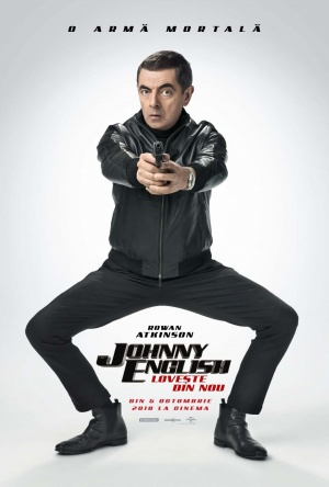 Afis JOHNNY ENGLISH LOVEȘTE DIN NOU
