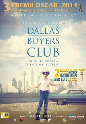 Afis DALLAS BUYERS CLUB