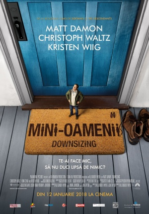 Afis DOWNSIZING. MINI-OAMENII