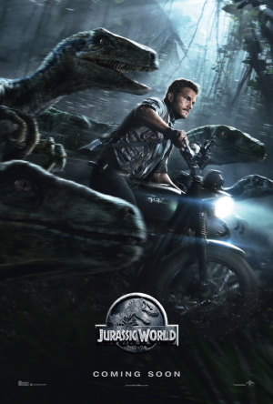 Afis JURASSIC WORLD