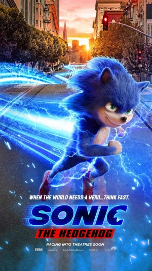 Afis SONIC THE HEDGEHOG